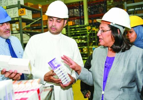 Fresh stocks of medicines arrive at Health Ministry warehouse