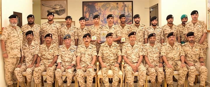 The Defense Force holds a graduation ceremony for a specialized military course for officers