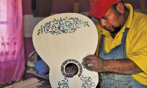 'Coco' guitars all the rage in Mexico