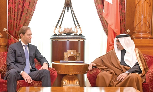 Bahrain to boost ties with Russia