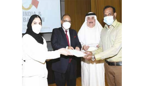 Logo unveiled for Bahrain-India diplomatic relations Golden Jubilee milestone celebrations
