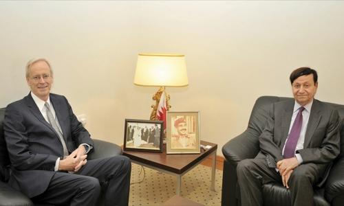 Bahrain-US  ties reviewed