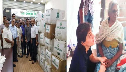 Bahrain relief pours to flood-hit Kerala