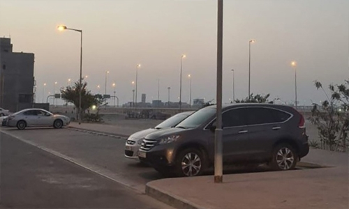 343 car park areas provided for four governorates