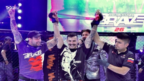 BRAVE CF makes history by introducing international MMA action to Colombia