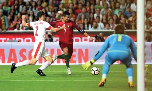 Portugal end Swiss winning run