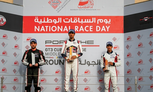 Bahrain's Isa back on track