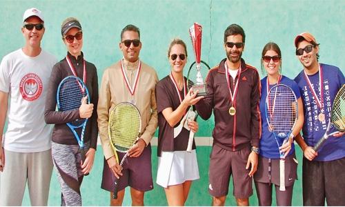Gaith, Matskevych claim Gold medals