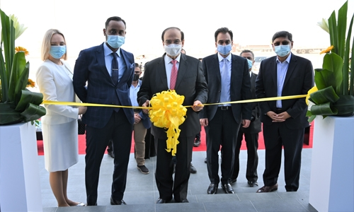 Dr Abdul Hussain Mirza inaugurates second solar panels factory in Bahrain
