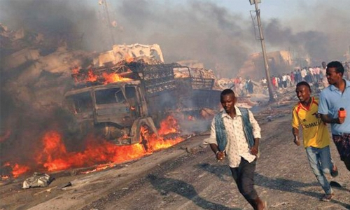 More than 230 killed in massive  bomb attack in Somalia