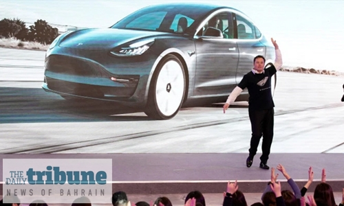 Musk dance moves launch Tesla SUV programme at new China factory