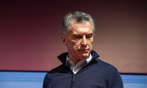 Argentine peso plummets 14pc after Macri vote defeat