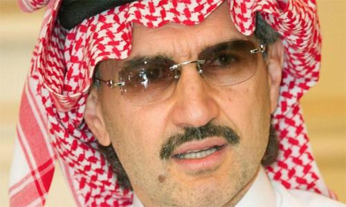 Saudi prince sells press group shares