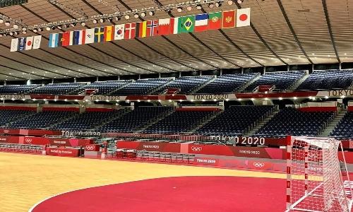 Bahrain handball team arrive in Tokyo