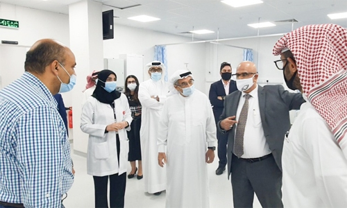 New integrated unit at Salmaniya Medical Complex a boost to fight against COVID-19