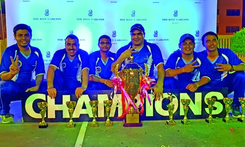 Ritz-Carlton triumph in Inter Hotel cricket tourney