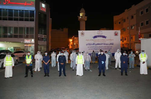 Southern Governorate conducts sanitisation campaign in East Riffa
