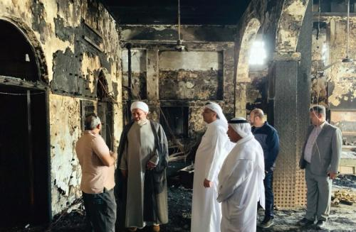Government to rebuild gutted ma'atam