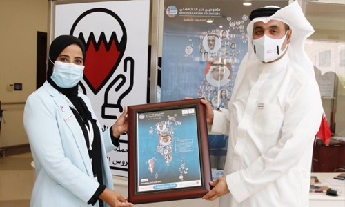 Bahrain health workers confront COVID-19 with deep commitment, high performances