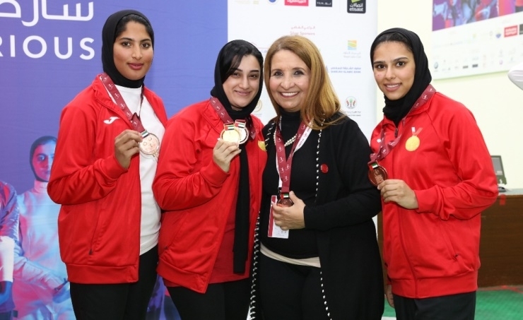 Bahrain lifts tally to 12 medals in Arab Women's Games