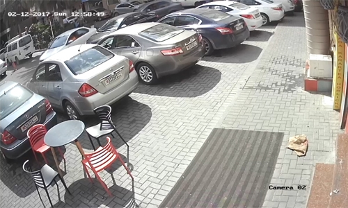 Illegal parking racket busted