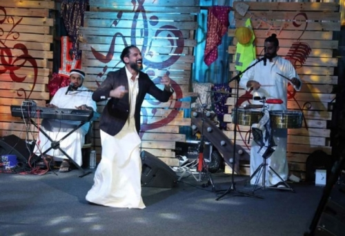 Khaled Fouad's e-gig a big hit