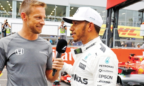 Hamilton was 'weird' as a team-mate: Button