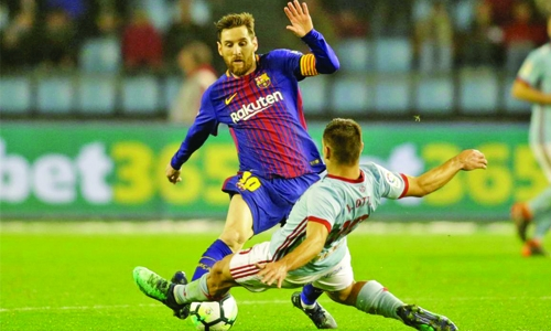 Barca settle for draw