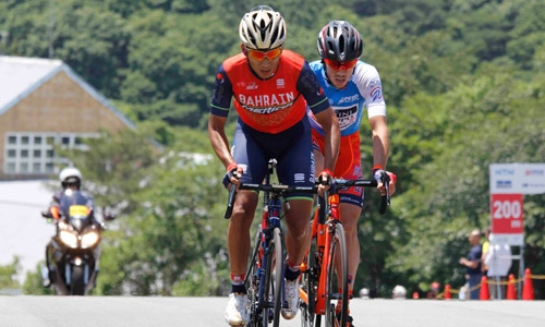 Feng takes fourth place at the queen stage of Tour of Japan