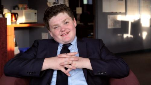 14-year-old US boy runs for governor