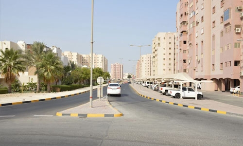 Hamad road project is moving smoothly