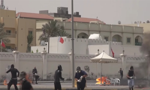 Sitra Police station attack foiled