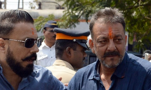 Bollywood's 'Deadly Dutt' back on Indian screens after jail time
