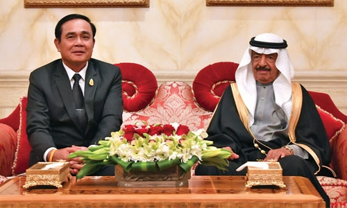 PM hails Bahraini-Thai relations