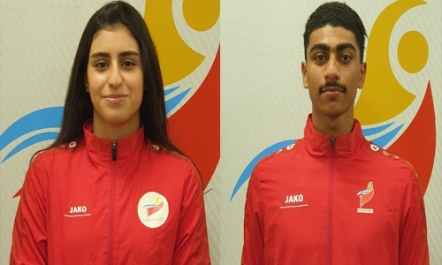Bahrain swimmers already making waves at Olympic Games