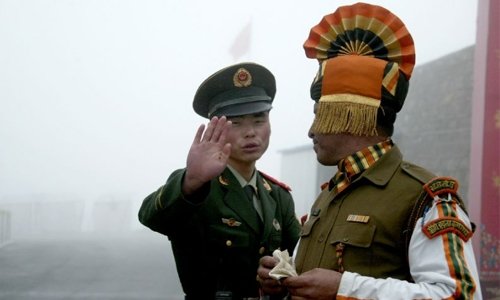 China protests alleged Indian border incursion