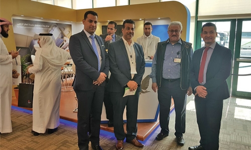 Gulf Air takes part in 2018 Saudi Aramco travel show