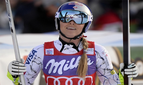 Alpine skiing: Speed queen Vonn wins Zauchensee downhill