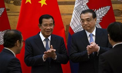 China promises Cambodia $600 million aid at PM visit