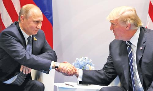 Trump showers praise on Putin in his fourth meeting with the Russian President