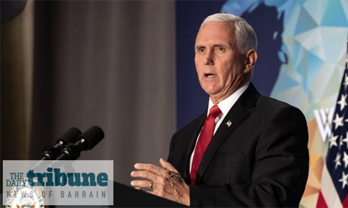 Stand strong against Iran: US Vice President Pence