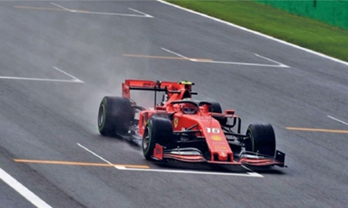 Leclerc tops Italy practice