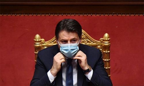 Italian PM Conte set to resign amid challenges to minority government
