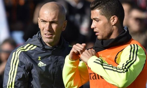 Zidane hints Ronaldo to feature against Man United