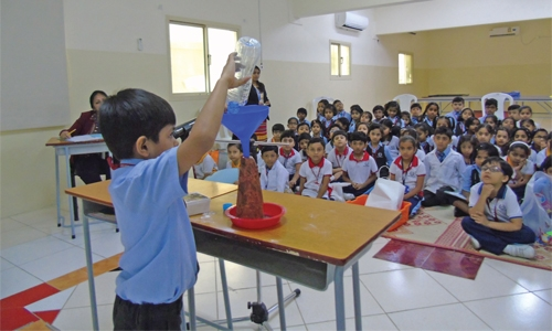 Budding scientists of Bahrain Indian School