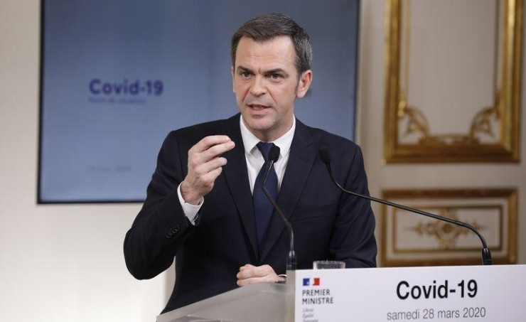 French Health Minister: COVID-19 epidemic has not yet peaked