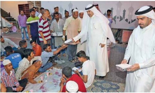 Capital Governorate hosts Iftar for 25,500 people