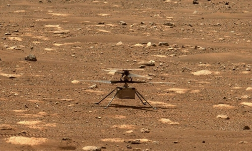 NASA releases first audio of mini-helicopter's flight on Mars
