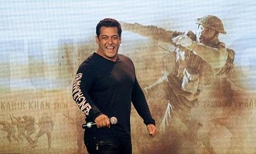 Bollywood star Khan's latest Eid release hits screens