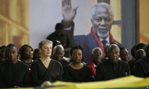 Kofi Annan rewarded the world with his wisdom